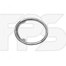 Окуляр фары противотуманной правый хром для Logan 2 Fps