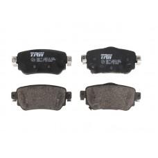 Комплект задних дисковых тормозных колодок для Kadjar Trw