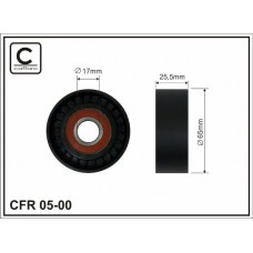 Ролик натяжного механизма ремня генератора для Kangoo 1.5dci/1.6i  Caffaro