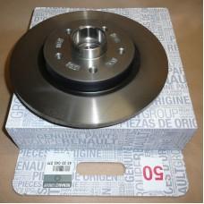Тормозной диск задний для Kangoo II (с подшипником) Renault 432004327R