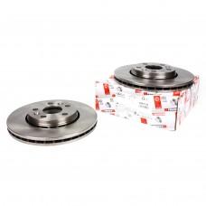Тормозной диск передний для Kangoo II - TRW