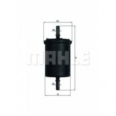 Фильтрующий элемент на топливный фильтр для Megane 3 1.6 Mahle
