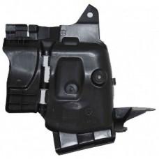 Защита переднего бампера левая боковая Asam для Логан с 2013 г.