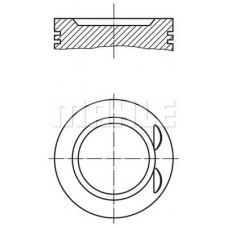 Поршень c кольцами Mahle STD 79.5 для Megane II 1.6 16V