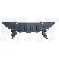 Защита переднего бампера Megane II 06-