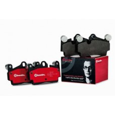 Комплект передних тормозных колодок (дисковый тормоз) для Megane 3 Brembo