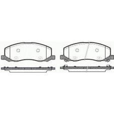 Колодки тормозные задние  для Megane 3 Roadhouse