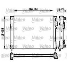 Радиатор основной без конд  для Trafic 2 1.9Dci/2.0 Valeo