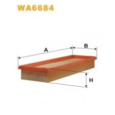 Воздушный фильтр с 01-> для Trafic 2 1.9Dci Wix