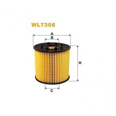 Масляный фильтр с 03 для Trafic 2 2.5Dci Wix